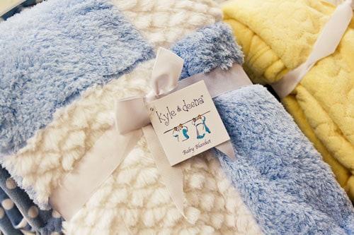 Kyle & Deena Baby Blanket $9.99 at T.J. Maxx
