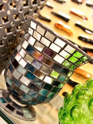 Mirror Vase, $3.99 at T.J. Maxx