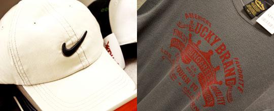 Nike Cap, Lucky Brand Shirt $19.99 at T.J. Maxx