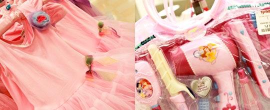 Pink Leaotard with Tutu Skirt, Disney Hairdressing Set, $12.99 at Marshalls