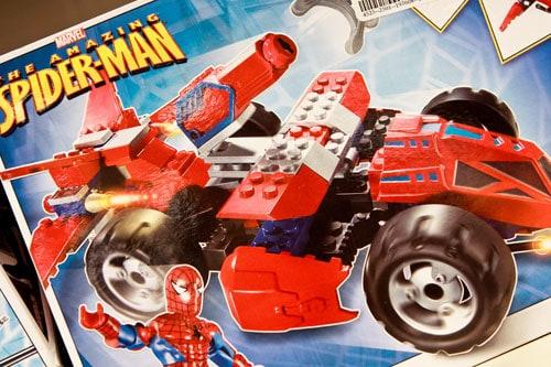 Mega Blocks Spiderman $9.99 at Marshalls
