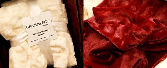 Grammercy Studio, Faux Fur Throw, $14.99, Assorted Throw at T.J. Maxx