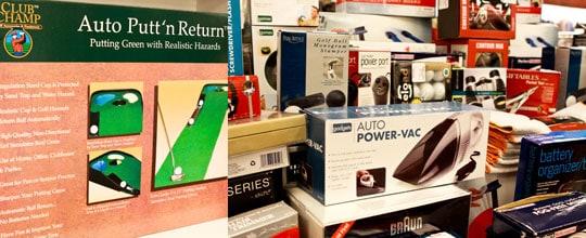 Assorted gadgets at TJ Maxx