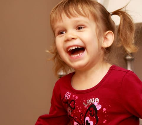 Wordless Wednesday - Sophia Laughing