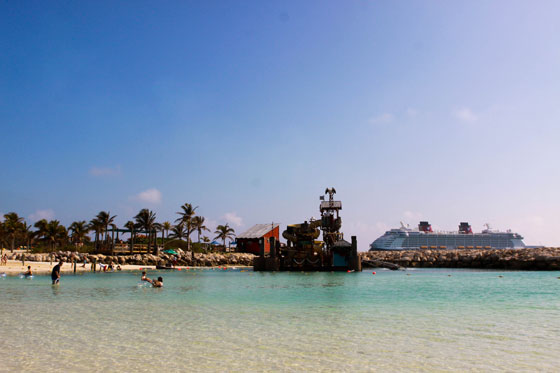 Disney Castaway Cay and the Disney Dream Ship