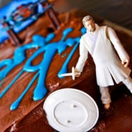 Tackle it Tuesday — How to Make a TRON Birthday Cake…