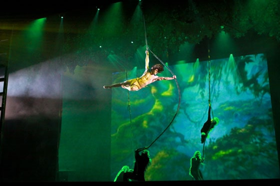 Tarzan - during The Golden Mickeys - photo Janice Croze
