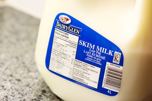 skim milk for weight loss