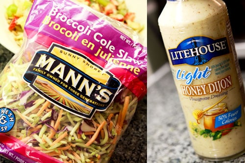 Weight Loss Tip - Broccoli Cole Slaw and Honey Dijon Dressing