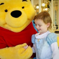 Wordless Wednesday — Meeting Winnie the Pooh