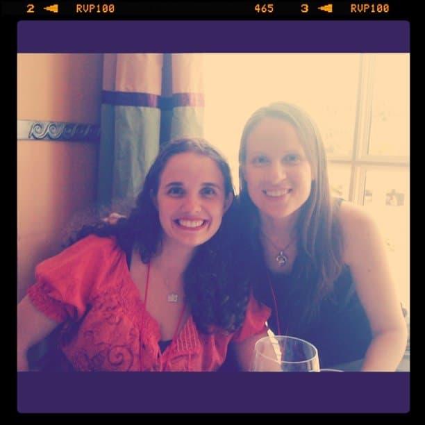 Janice with Stephanie aka Metropolitan Mama
