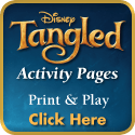 TANGLED DVD Prize Pack Giveaway