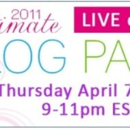 Ultimate Blog Party LIVE Webcast on MomTV