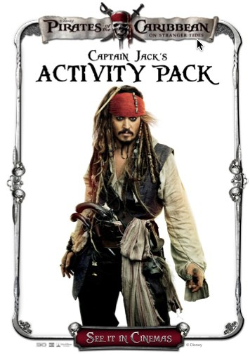 Captain Jack's Activity Pack