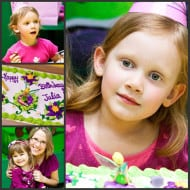 Wordless Wednesday — Julia's 6th Birthday!