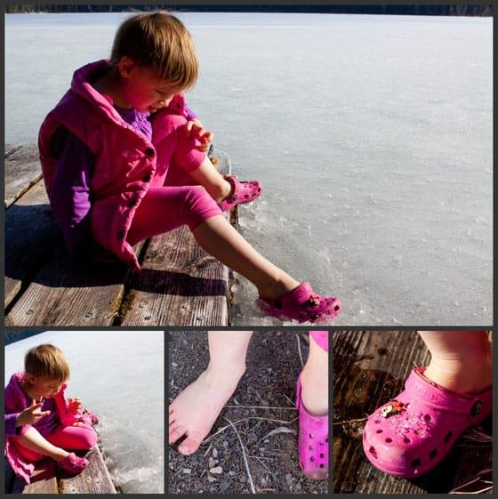 crocs-melting-ice
