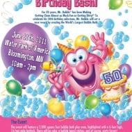 Mr. Bubble 50th Birthday Bash and Giveaway