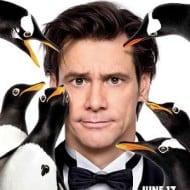 Jim Carrey, comic genius and respected actor, in Mr. Popper's Penguins