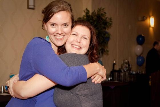 TypeACon - Kelly Whalen and Kelly Loubet - by Janice Croze