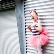Wordless Wednesday — Screaming Ballerina