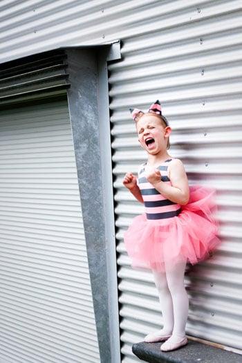 Wordless Wednesday - Screaming Ballerina