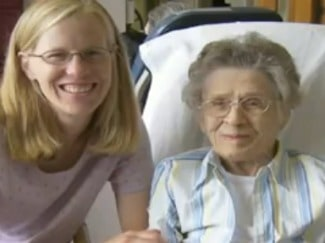 Eric Dishman's Wife and Grandmother