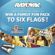 Rayovac Six Flags Summer Promotion
