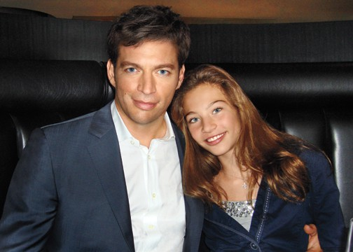 Harry Connick Jr. and his daughter, Kate.