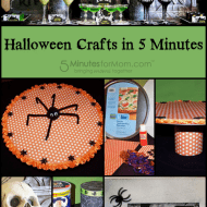 Halloween Crafts in 5 Minutes