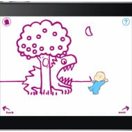 The Magic of Harold and the Purple Crayon on iPad