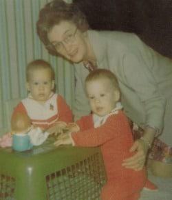 Nana with Susan and Janice