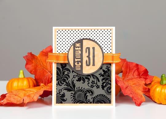 October 31 Card