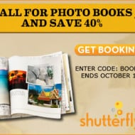 Photobooks from Shutterfly – 40% Off Promo Code