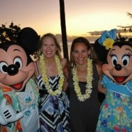Wordless Wednesday – With Mickey and Minnie in Hawaii