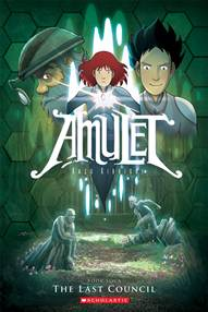 Amulet, a Graphic Novel review and giveaway + $25 for more