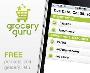 Grocery Guru – Shopping Efficiency in an App