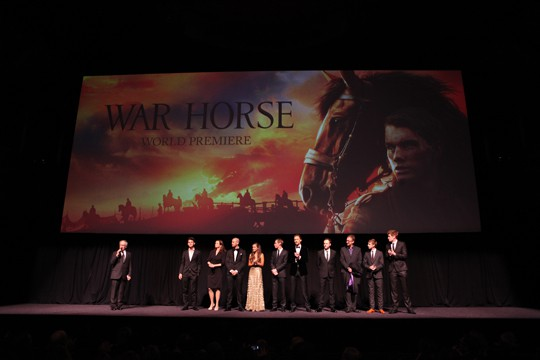 """The World Premiere of DreamWorks Pictures' """"War Horse"""""""