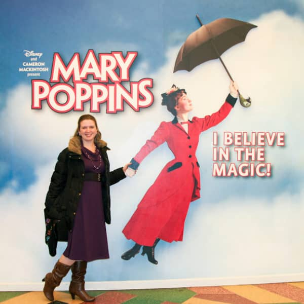 Mary Poppins at the New Amsterdam Theater on Broadway