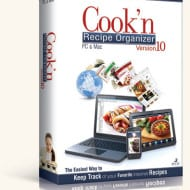 Cook N Recipe Organizer Helps You Organize ALL Your Recipes