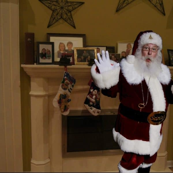 Catch Santa in the Act and Then Share it With the Family!