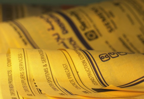 Using the Yellow Pages for More than Just Local Business Info