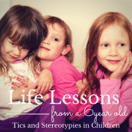 Tics and Stereotypy in Children – Lessons from a Six Year Old