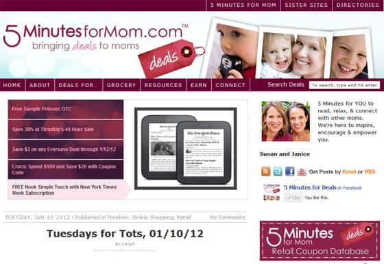 5-minutes-for-deals-saving-money-coupons