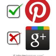 Mom Bloggers Pick Pinterest Over Google+