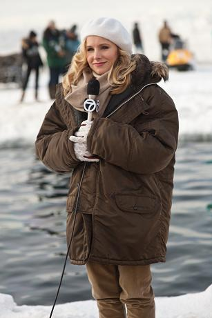 Behind the Scenes — Big Miracle with Kristen Bell and the Mom Blogger crew