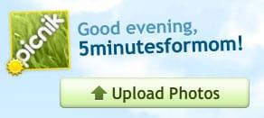 picnik-5 Minutes for Mom