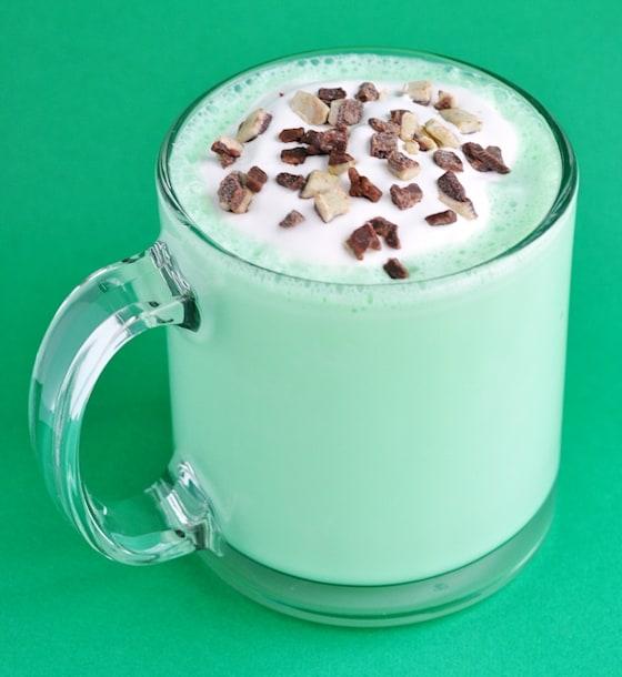 green mint milkshake
