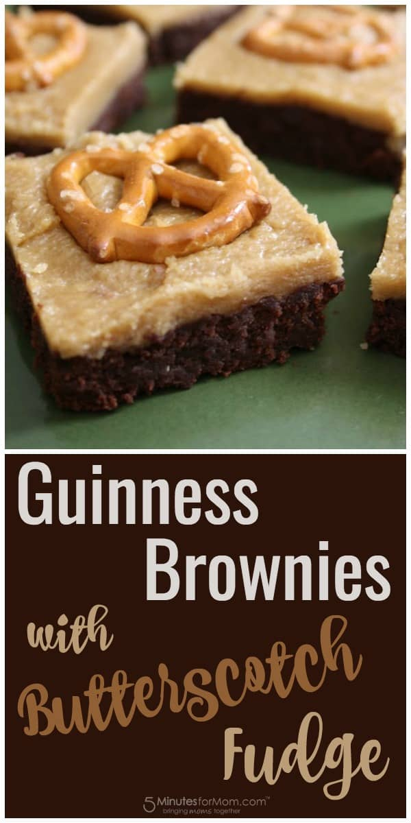 Guinness Brownies with Butterscotch Fudge Recipe