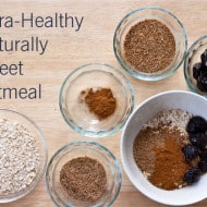 Sugar-Free, Gluten-Free, Naturally Sweet Oatmeal Packed with Omega 3