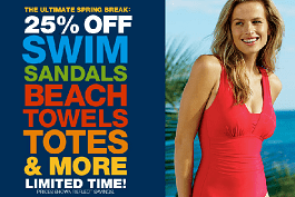 Thumbnail image for Last Day to Save on Land's End Swim Suits and Accessories + $100 Giftcard Giveaway